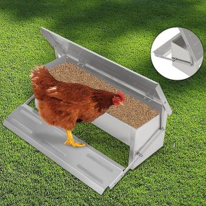 Voilamart Automatic Poultry Feeder