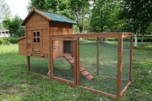 ECOLINEAR Outdoor Wooden Chicken Coop